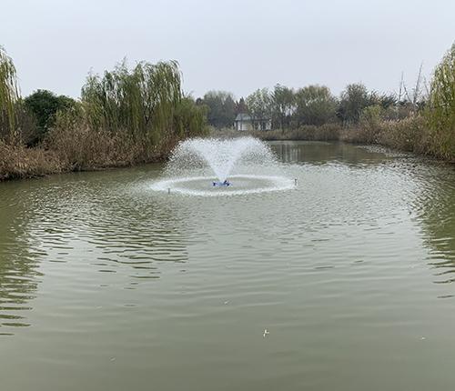 喷泉曝气设备案例